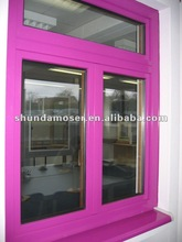 Germany brand wooden with aluminum cladding double glazed window