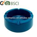 Blue windproof cinzeiro de mesa/cinzeiro da melamina