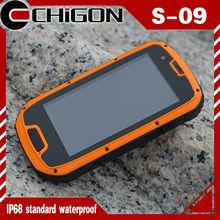 quad core MTK6589 smart phone IP68 waterproof