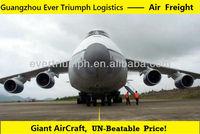 2014 cheap air cargo shipping from Guangzhou to USA