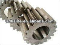 Planetary gear, sun gear, final drive motor spare parts for excavator pc120/Kobelco/Volvo/Hyundai/Doosan