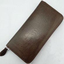 Handmade genuine lizard leather wallet fashion 2013 best women wallet brands