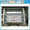 Bogie eléctrica/coche horno de solera/horno de tratamiento térmico para las piezas de metal
