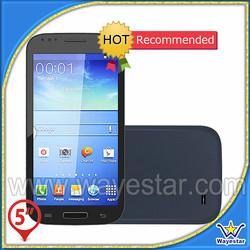 Latest MTK 6572 dual sim unlocked gps smart mobile phone 5''