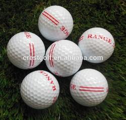 2013 Two-piece range practice golf ball(manufacturer golf balls)