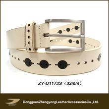wholesale thread leather gun belt(ZY-D1172S)