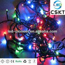 SMD5050/ 3528 custom RGB Christmas led twinkle light string