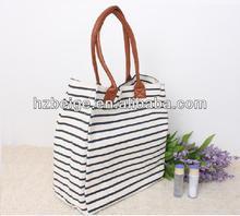2013 New designed vintage bulk strip Canvas shoulder bag