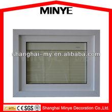 PVC sliding glass door /Environmental with shutters louverd Sliding Window /pvc/upvc sliding window and door