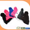 Popular Knitted cap/ pom pom/ winter hat