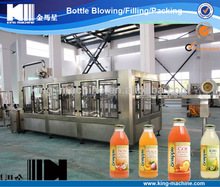 Automatic Fruit Juice Glass Bottle Filling Mechanical / Instrument / Device KING MACHINE