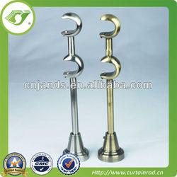 iron curtain rod bracket&stainless steel curtain rod brackets