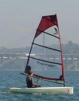 Twiner 2.8m sailing boat