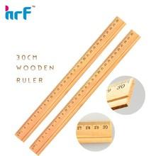 2013 High quality 30cm Wooden ruler
