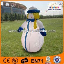 2013 best sale air-blown snowman christmas