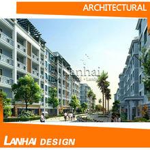 Steel Structure Apartments Design 3d Home Plans