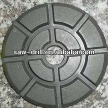 100mm (10mm Thickness) Diamond Floor Polishing Pads for Granite, Marble, Concrete, Terrazzo Wet Polishing