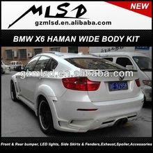 Car accessories parts auto spare pack aero kit X*6 Haman body kit