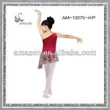 wholesale performance wear children's ballet chiffon dress performance dress training dress training wear