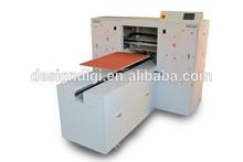 cotton-padded sheeting sheet t-shirt t shirt one 1 piece garment fabric cloth printing equipment