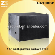 Self power protable active line array