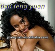 Top Quatity & Cheap Curly Afro 100% Malaysian Human Hair Wigs For Black Women