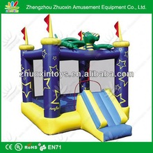 durable inflatable tank bouncer with big mouse, inflatable bouncer