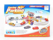 New Style Diy Orbit Parking Lot with 2 Plastic Car (DB010768), DIY Toys, Educational Toys