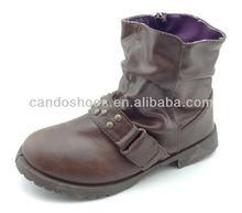 Wrinkle PU botas
