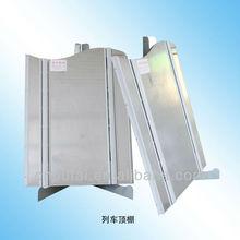 Espuma de alumínio painel composto por locomotiva teto