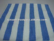 Jacquard striped cabana Pool Towels