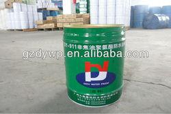 High elastomeric polyurethane waterproofing coating for roof/basement/swimming pool