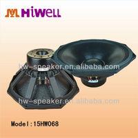 15HW068 4 inch voice coil in neodymium magnets speaker