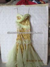 Hot designed wedding dress used clothing