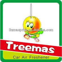 Paper car air freshener/cotton paper air freshener