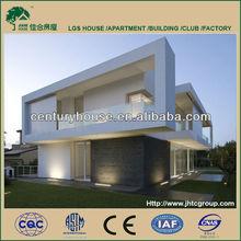 modern prefab house and villa
