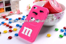 Hot OEM cute 3d silicone cell phone case
