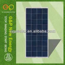 150W poly crystalline solar panel