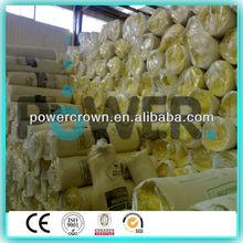 Non-poison formaldehyde-free glass wool heat blanket