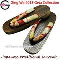 Fu-ka tradicional japonês de quimono yukata's calçados yaki geta sandália tamanco chinelo