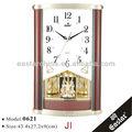 reloj de Péndulo con la música clásica (material plástico ABS y 16 repique de música)