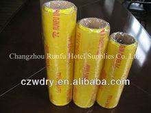 transparent PVC cling wrap film for food meat vegetable