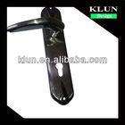 cheap new design zinc panel door handle and locks