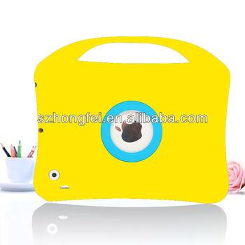 2013 new arrival cute silicone case for ipad mini silicone case for ipad mini cover case for mini ipad