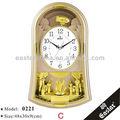 Prière musulmane horloge temps( matière plastique abs et 16 musique carillon horaire)