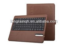 Pu leather case bluetooth keyboard for ipad air