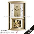 Horloge murale musulmane en aluminium (Matériaux plastiques ABS et 16 différentes mélodies carillons)