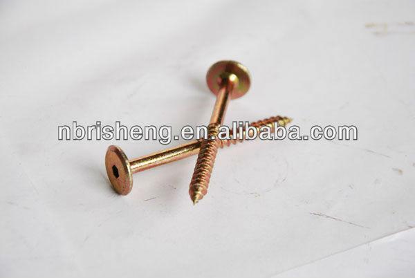 Hex socket head wood screws