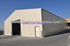 prefab steel structure car park building shed