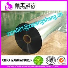 Heißer verkauf silber metallisierte pet-folie für boxen, silber beschichteten pet-folie metallisiert 0086 15838093715